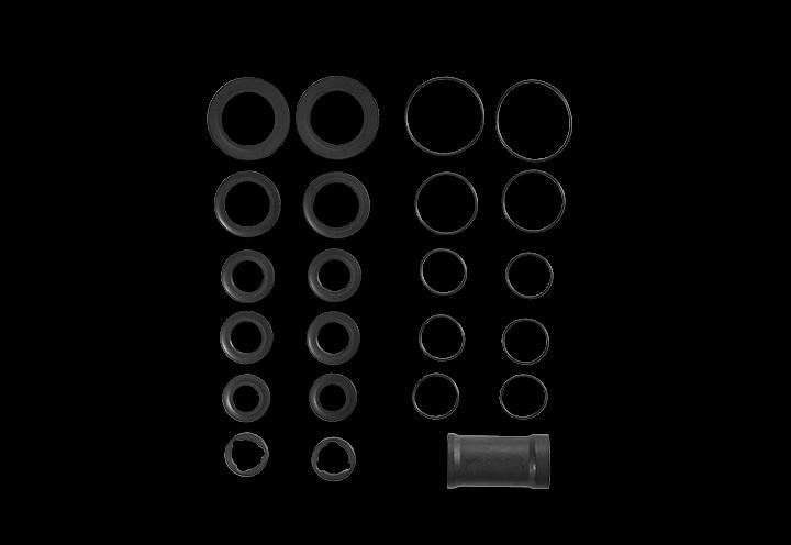 distance disc and sleeve set CAPRA MK2