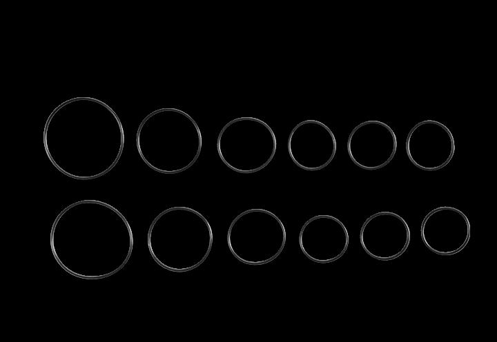 O-Ring Set CAPRA MK2 CF/AL